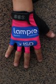 2014 Lampre Cycling Gloves red