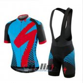 2016 Specialized Cycling Jersey And Bib Shorts Kit Black And Blu