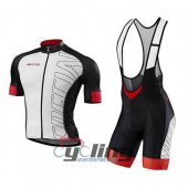 2016 Specialized Cycling Jersey And Bib Shorts Kit White And Red