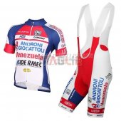 Androni Giocattoli Cycling Jersey Kit Short Sleeve 2015 white