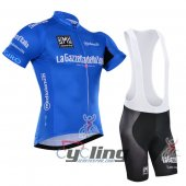 2016 Tour De Italia Cycling Jersey And Bib Shorts Kit Blue And White