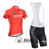 2014 Giro d'Italia Cycling Jersey And Bib Shorts Kit Red