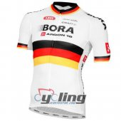 2016 Bora Black Cycling Jersey and Bib Shorts Kit bora White