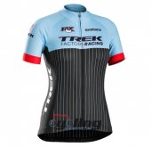 2016 Trek Factory Cycling Jersey And Bib Shorts Kit Black And Bl