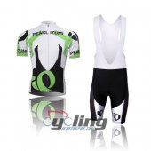 2013 Pearl Izumi Cycling Jersey And Bib Shorts Kit Black And Gre