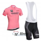 2014 Giro d'Italia Cycling Jersey And Bib Shorts Kit Pink