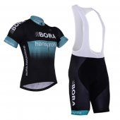 2017 Bora Cycling Jersey and Bib Shorts Kit black