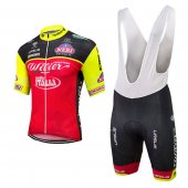 2017 Wilier Cycling Jersey and Bib Shorts Kit red