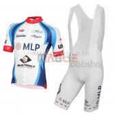 MLP Team Bergstrasse Cycling Jersey Kit Short Sleeve 2015 white and blue