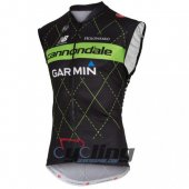 Cannondale Garmin Wind Vest 2016 Black And Green