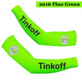 2016 Saxo Bank Tinkoff Cycling Arm Warmer green
