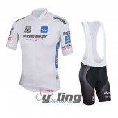 2016 Giro d'Italia Cycling Jersey And Bib Shorts Kit White And B