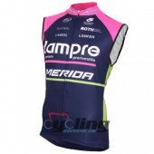 Lampre Wind Vest Blue And Pink 2016