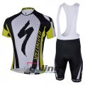 2013 Specialized Cycling Jersey And Bib Shorts Kit Black And Gre