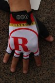 2014 Radioshack Cycling Gloves white