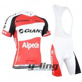 2015 Giant Alpecin Cycling Jersey and Bib Shorts Kit White R