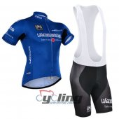 2015 Giro d'Italia Cycling Jersey And Bib Shorts Kit Blue