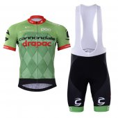 2017 Conondale Drapac Cycling Jersey and Bib Shorts Kit green