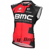 Bmc Wind Vest Black And Red 2016
