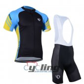 2014 Pearl Izumi Cycling Jersey And Bib Shorts Kit Black And Blu