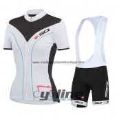 2015 Sidi Cycling Jersey And Bib Shorts Kit Black And White