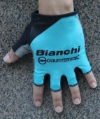 2016 Bianchi Cycling Gloves blue