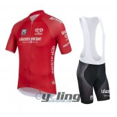 2016 Giro d'Italia Cycling Jersey And Bib Shorts Kit Red
