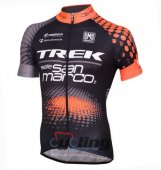 2016 Trek Factory Cycling Jersey And Bib Shorts Kit Black And Or