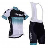 2017 Bora Cycling Jersey and Bib Shorts Kit deep black