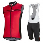 Nalini Wind Vest 2016 Black And Red