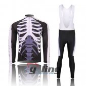2012 Northwave Long Sleeve Cycling Jersey and Bib Pants Kits Bla