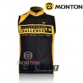 LiveStrong Wind Vest Black And Yellow 2009