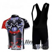 2010 Pearl Izumi Cycling Jersey And Bib Shorts Kit Black And Red