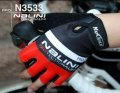2013 Nalini Cycling Gloves black and red