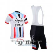 2013 Rapha Cycling Jersey And Bib Shorts Kit White And Red