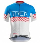 2016 Trek Factory Cycling Jersey And Bib Shorts Kit Sky Blue And