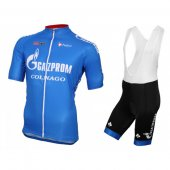 2016 Rusvelo Cycling Jersey And Bib Shorts Kit Blue And White