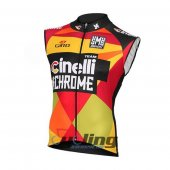 Cinelli Wind Vest 2016 Red And Yellow