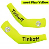2016 Saxo Bank Tinkoff Cycling Arm Warmer yellow