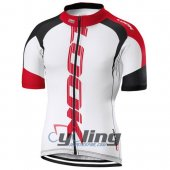 2016 Look Cycling Jersey And Bib Shorts Kit White And Red
