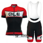 2016 ALE Cycling Jersey And Bib Shorts Kit Red Black