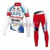 Androni Giocattoli Cycling Jersey Kit Long Sleeve 2014 white