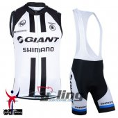 Giant Wind Vest Black And White 2015