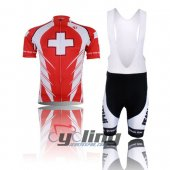 2010 Pearl Izumi Cycling Jersey And Bib Shorts Kit Red And White