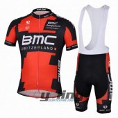 2013 Bmc Cycling Jersey And Bib Shorts Kit Black And Red