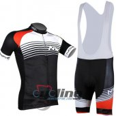 2014 Northwave Cycling Jersey and Bib Shorts Kit Black White