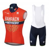 2017 Bahrain Merida Wind Vest orange
