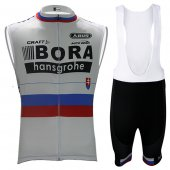 2017 Bora Wind Vest bianc and red