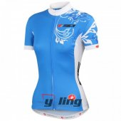 2015 Sidi Cycling Jersey And Bib Shorts Kit Blue And White
