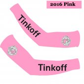 2016 Saxo Bank Tinkoff Cycling Arm Warmer rose